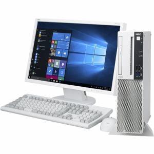 NEC PC-MJE31LKGCAS3 デスクトップパソコン Mate J タイプML  ホワイト