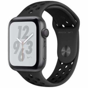 アップル(Apple) Apple Watch Nike+ Series 4(GPSモデル)- 44mm スペースグレイアルミニウムケースとアンスラサイト/ブラックNikeスポーツバンド MU6L2J/A
