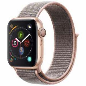 アップル(Apple) Apple Watch Series 4(GPSモデル)- 40mm ゴールドアルミニウムケースとピンクサンドスポーツループ MU692J/A