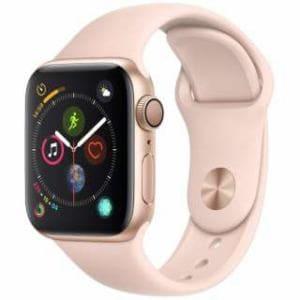 アップル(Apple) Apple Watch Series 4(GPSモデル)- 40mm ゴールドアルミニウムケースとピンクサンドスポーツバンド MU682J/A