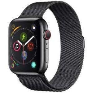 アップル(Apple) Apple Watch Series 4(GPS + Cellularモデル)- 44mm スペースブラックステンレススチールケースとスペースブラックミラネーゼループ MTX32J/A