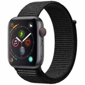 アップル(Apple) Apple Watch Series 4(GPS + Cellularモデル)- 44mm スペースグレイアルミニウムケースとブラックスポーツループ MTVV2J/A