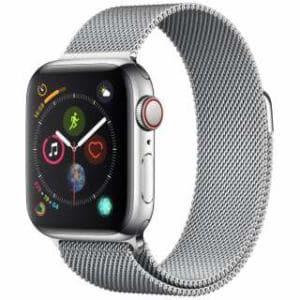 アップル(Apple) Apple Watch Series 4(GPS + Cellularモデル)- 40mm ステンレススチールケースとミラネーゼループ MTVK2J/A