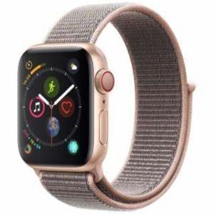アップル(Apple) Apple Watch Series 4(GPS + Cellularモデル)- 40mm ゴールドアルミニウムケースとピンクサンドスポーツループ MTVH2J/A
