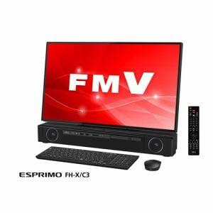 富士通 FMVFXC3B デスクトップパソコン FMV ESPRIMO FHX/C3  オーシャンブラック