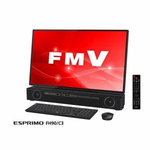 富士通 FMVF90C3B デスクトップパソコン FMV ESPRIMO FH90/C3  オーシャンブラック