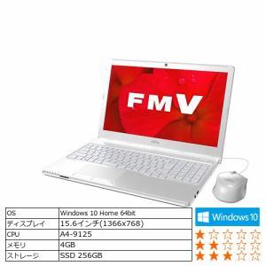 富士通 FMVA41D2W ノートパソコン FMV LIFEBOOK  アーバンホワイト