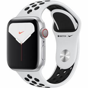 アップル(Apple) MX3C2J/A Apple Watch Nike Series 5(GPS + Cellularモデル)- 40mmシルバーアルミニウムケースとピュアプラチナム/ブラックNikeスポーツバンド - S/M & M/L