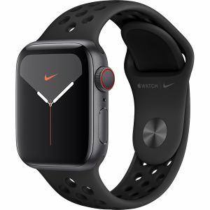 アップル(Apple) MX3D2J/A Apple Watch Nike Series 5(GPS + Cellularモデル)- 40mmスペースグレイアルミニウムケースとアンスラサイト/ブラックNikeスポーツバンド - S/M & M/L