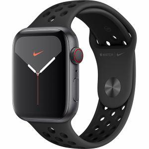 アップル(Apple) MX3F2J/A Apple Watch Nike Series 5(GPS + Cellularモデル)- 44mmスペースグレイアルミニウムケースとアンスラサイト/ブラックNikeスポーツバンド - S/M & M/L