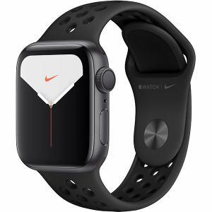 アップル(Apple) MX3T2J/A Apple Watch Nike Series 5(GPSモデル)- 40mmスペースグレイアルミニウムケースとアンスラサイト/ブラックNikeスポーツバンド - S/M & M/L