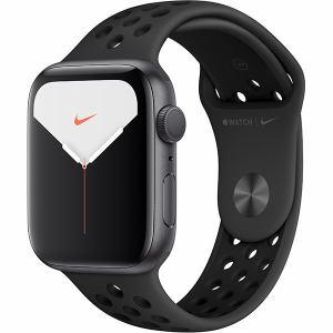 アップル(Apple) MX3W2J/A Apple Watch Nike Series 5(GPSモデル)- 44mmスペースグレイアルミニウムケースとアンスラサイト/ブラックNikeスポーツバンド - S/M & M/L