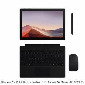 Microsoft VAT-00027 ノートパソコン Surface Pro 7 i7/16GB/512GB  ブラック