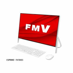 富士通 FMVF70D3W デスクトップパソコン FMV ESPRIMO  ホワイト