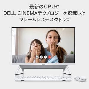 DELL FI57-9WHBS デスクトップパソコン Inspiron 24 5000 フレームレスデスクトップ 23.8インチ クアッドコア Intel Core i5 8GB SSD 256GB シルバー