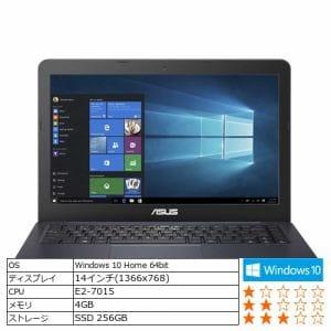 ASUS E402YA-GA109T ノートパソコン ASUS E402YA ブルー