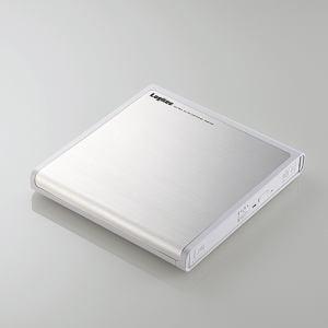 ロジテック LDR-PMJ8U2LWH USB2.0ポータブルDVDドライブ 書込ソフト付き ホワイト