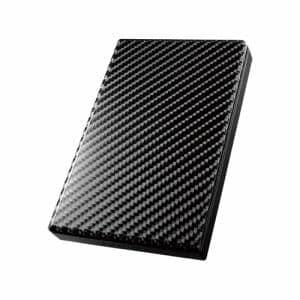 IOデータ HDPT-UT1K USB 3.0/2.0対応ポータブルハードディスク「高速カクうす」 1TB カーボンブラック