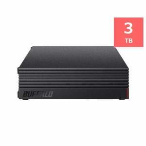 バッファロー HD-LLD3.0U3-BKA 24時間連続録画対応 外付けHDD 3TB