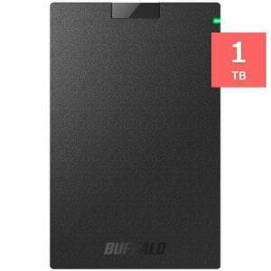 バッファロー HD-PCG1.0U3-BBA ミニステーション USB3.1(Gen1)/USB3.0 ポータブルHDD 1TB ブラック