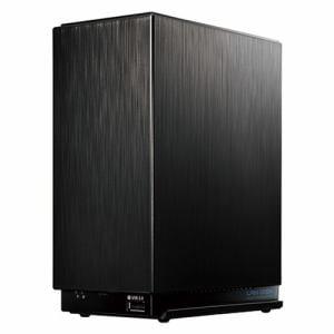 IOデータ HDL2-AA6W デュアルコアCPU搭載 2ドライブ 高速 ビジネス NAS 6TB