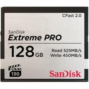 サンディスク エクストリーム プロ CFast 2.0 カード 128GB SDCFSP-128G-J46D SDCFSP-128G-J46D