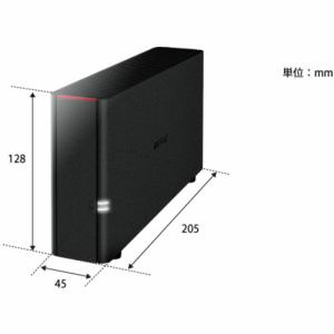 バッファロー LS210D0401G リンクステーション ネットワーク対応 外付けハードディスク 4TB