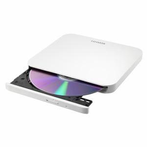 IOデータ DVRP-U8LW USB2.0対応 ポータブルDVDドライブ ホワイト