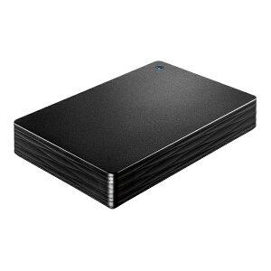 IOデータ HDPH-UT4DKR 外付けHDD カクうす Lite ブラック ポータブル型 4TB