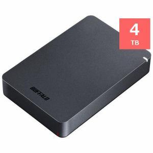 バッファロー HD-PGF4.0U3-GBKA ポータブルHDD ブラック 4TB