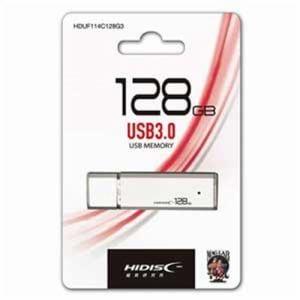 HIDISC HDUF114C128G3 USB3.0メモリー 128GB