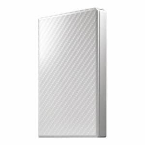 アイ・オー・データ機器 HDPT-UTS2W USB 3.1 Gen 1対応 ポータブルHDD セラミックホワイト 2TB