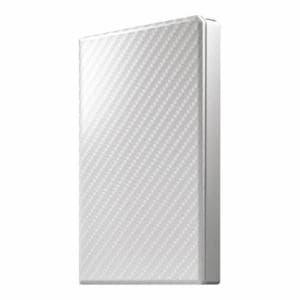アイ・オー・データ機器 HDPT-UTS500W USB 3.1 Gen 1対応 ポータブルHDD セラミックホワイト 500GB