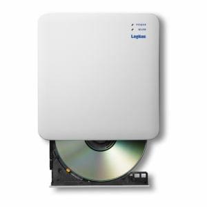 エレコム LDR-PS24GWU3RWH 2.4GHz WiFi CD録音ドライブ