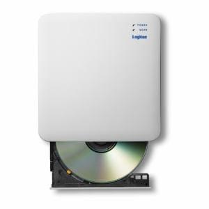 エレコム LDR-PS5GWU3PWH 5GHz WiFi DVD再生ドライブ