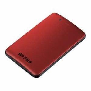 バッファロー SSD-PM120U3A-R 外付けSSD パソコン用 レッド 120GB