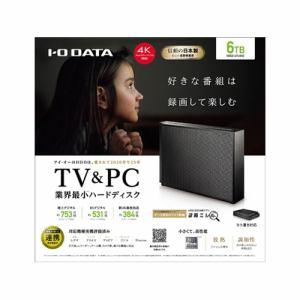 アイ・オー・データ HDCZ-UTL6KC 外付けHDD USB-A接続 家電録画対応 据え置き型 6TB