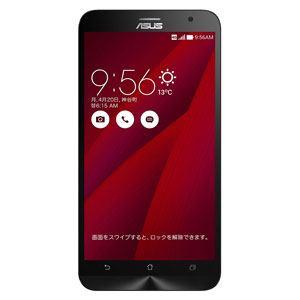 ASUS ZE551ML-RD32S4 SIMフリースマートフォン 「ZenFone 2」 LTE対応 32GB レッド (メモリ 4GB)