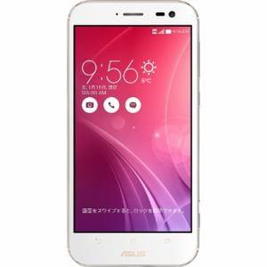 ASUS ZX551ML-WH64S4 [LTE対応]SIMフリースマートフォン Android 5.0搭載 5.5インチ 「ZenFone Zoom」 64GB プレミアムレザーホワイト