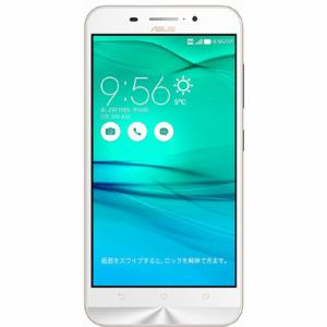 ASUS ZC550KL-WH16 [LTE対応] SIMフリースマートフォン Zenfone Max 16G ホワイト