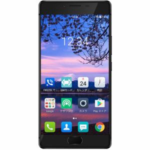 freetel(フリーテル) FTJ161B-REI-BK SIMフリースマートフォン 「FREETEL REI 麗」 32G メタルブラック