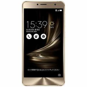 ASUS ZS550KL-GD64S4 SIMフリースマートフォン ZenFone3 Deluxe 64G ゴールド