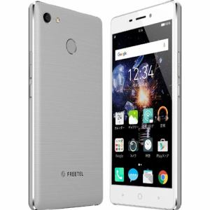 freetel(フリーテル) FTJ162E-RAIJIN-SI SIMフリースマートフォン 「RAIJIN」 シルバー