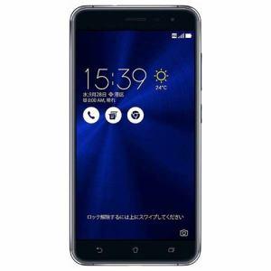 ASUS ZE552KL-BK64S4 SIMフリースマートフォン Android 6.0.1・5.5型 「Zenfone 3」 サファイヤブラック