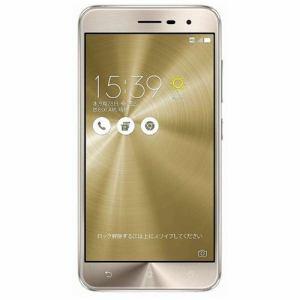 ASUS ZE520KL-GD32S3 SIMフリースマートフォン Android 6.0.1・5.2型 「Zenfone 3」 クリスタルゴールド