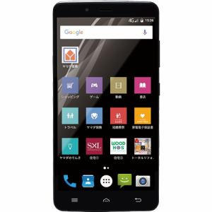 【台数限定】 ヤマダ電機オリジナルモデル EP-171AC/B Android搭載SIMフリースマートフォン EveryPhone AC ブラック