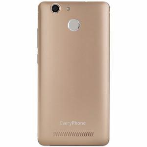 【台数限定】 ヤマダ電機オリジナルモデル EP-172BZ/G DSDS対応 SIMフリースマートフォン EveryPhone BZ  ゴールド