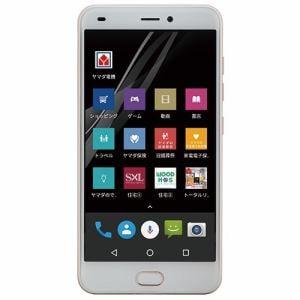 【台数限定】ヤマダ電機オリジナル EP-172PR/G Android搭載SIMフリースマートフォン EveryPhone PR  ゴールド