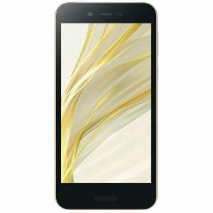 シャープ SH-M05-N SIMフリースマートフォン Android 7.1 5.0型 「AQUOS(アクオス)」 ゴールド