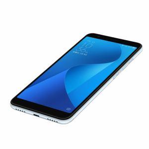 ASUS ZB570TL-SL32S4 SIMフリースマートフォン 「Zenfone Max Plus M1」 アズールシルバー 32GB